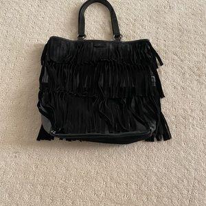 YSL vintage fringe bag